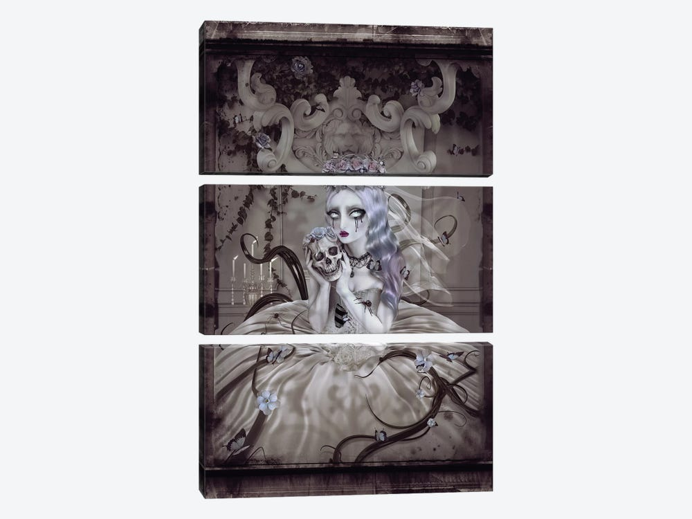 Corpse Bride by Natalie Shau 3-piece Canvas Art