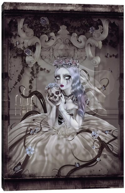 Corpse Bride Canvas Art Print