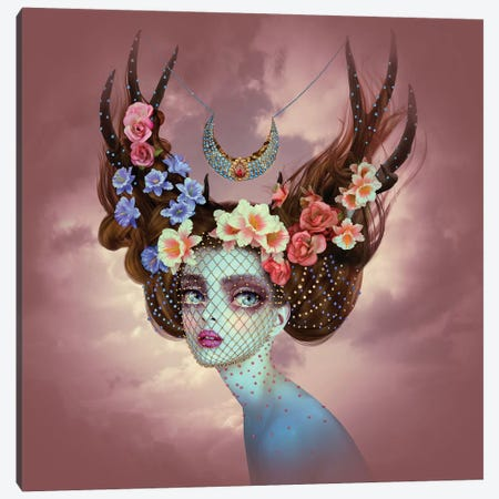 Fawn Canvas Print #NTL12} by Natalie Shau Canvas Art Print