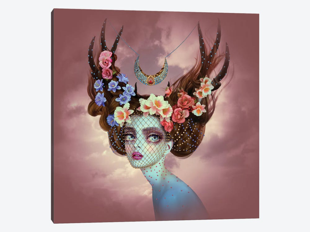 Fawn by Natalie Shau 1-piece Canvas Wall Art
