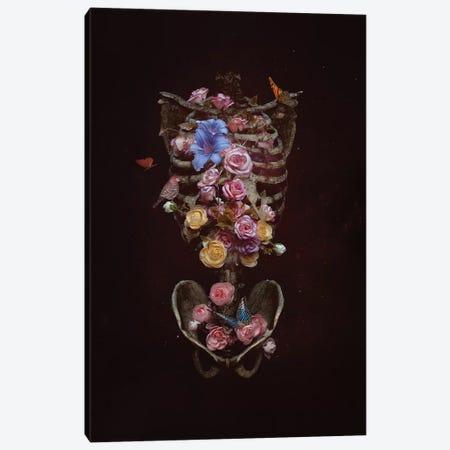Floral Soul Canvas Print #NTL16} by Natalie Shau Canvas Wall Art