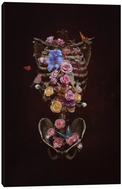 Floral Soul Canvas Art Print