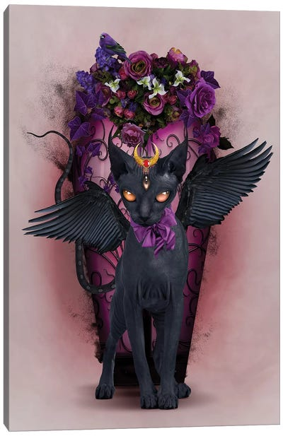 Bastet Canvas Art Print
