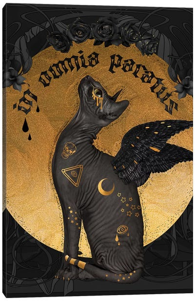 In Omnia Paratus Canvas Art Print