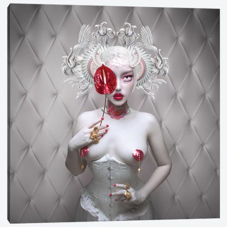 Infrared Canvas Print #NTL21} by Natalie Shau Canvas Art