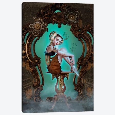 Mechanical Love Canvas Print #NTL27} by Natalie Shau Canvas Print