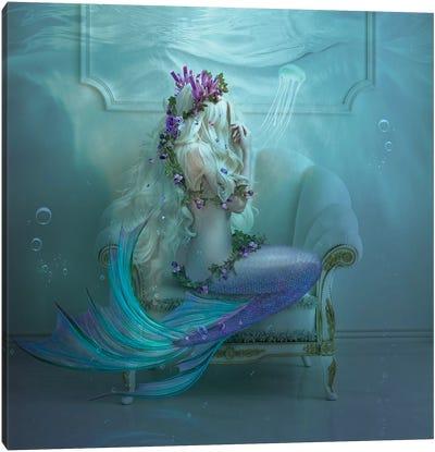 Mermaid Tears Canvas Art Print