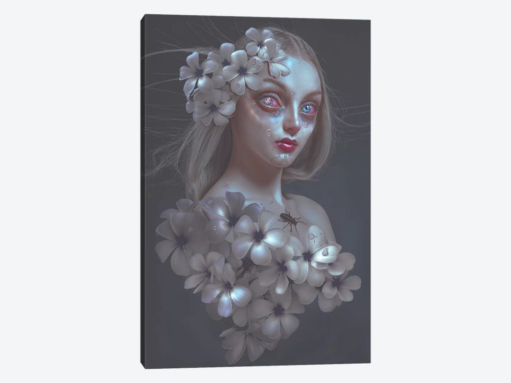 Pale Flower by Natalie Shau 1-piece Canvas Artwork