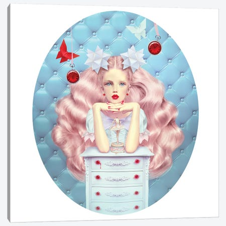 Papercut Canvas Print #NTL33} by Natalie Shau Art Print