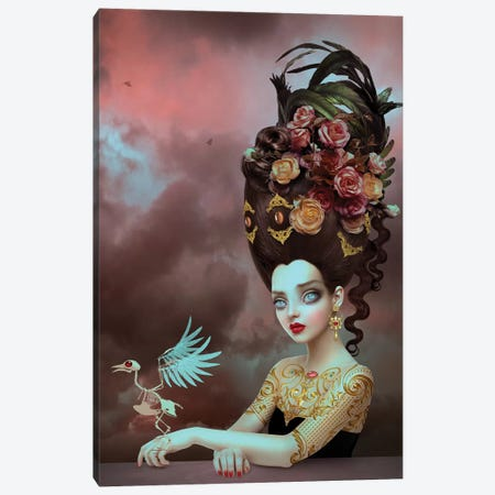 Solace Canvas Print #NTL37} by Natalie Shau Canvas Artwork