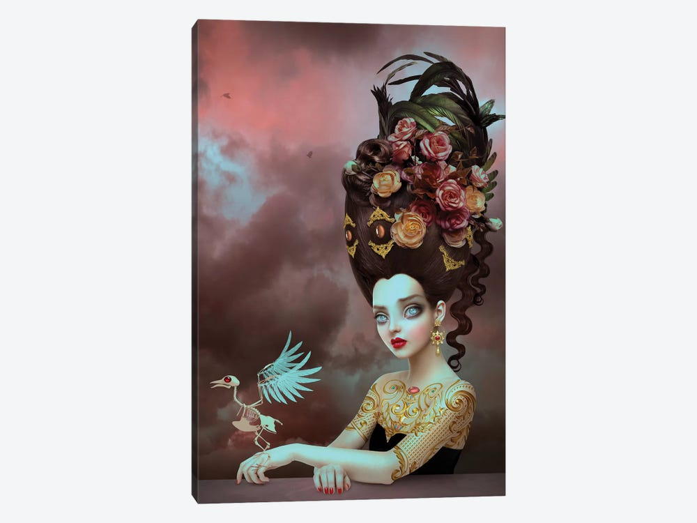 Solace by Natalie Shau 1-piece Canvas Art Print