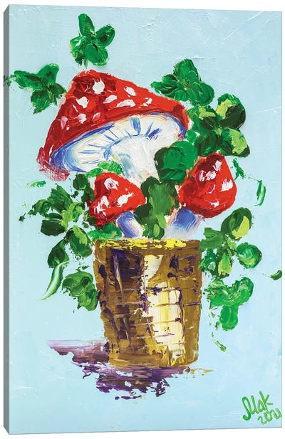 Amanita Muscaria Canvas Art Print