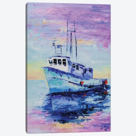 Ship Canvas Print #NTM125} by Nataly Mak Canvas Art