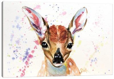 Baby Deer Canvas Art Print