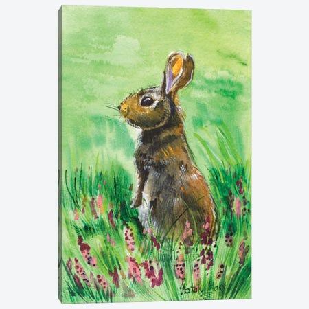 Hare Canvas Print #NTM22} by Nataly Mak Canvas Print
