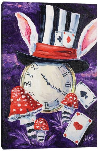 Alice Watch Canvas Art Print