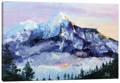 Mountain Shasta Canvas Art Print