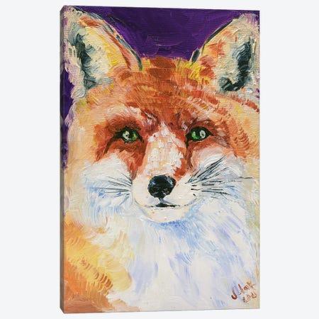 Fox II Canvas Print #NTM66} by Nataly Mak Canvas Artwork