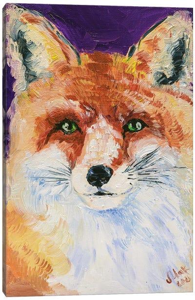 Fox II Canvas Art Print