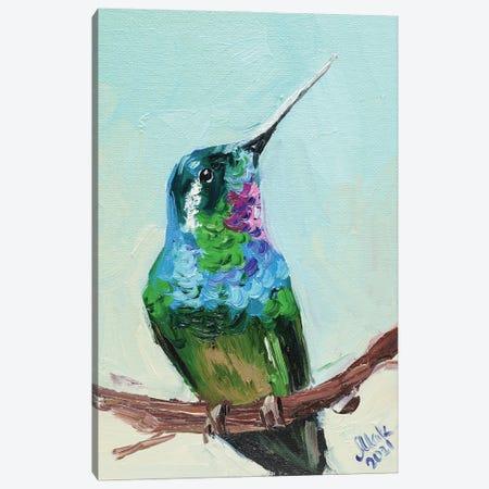 Hummingbird Canvas Print #NTM6} by Nataly Mak Canvas Art