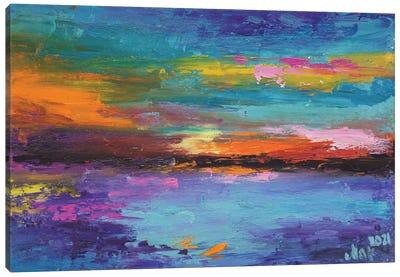 Colorful Landscape Canvas Art Print
