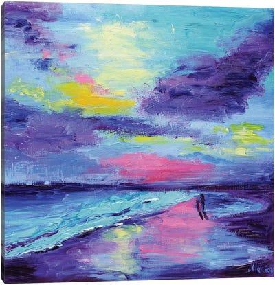 Coastal Landscape Canvas Art Print