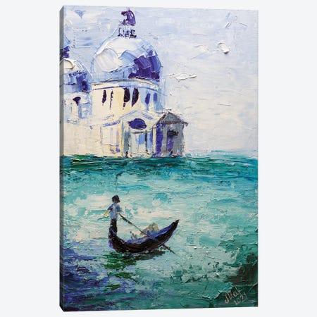 Venice Canvas Print #NTM8} by Nataly Mak Art Print