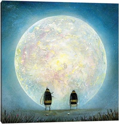 Fallen Moon Canvas Art Print