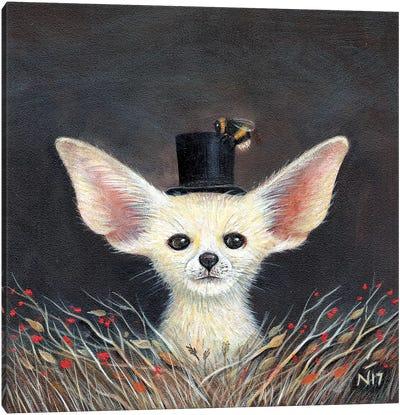 Fennec Fox Canvas Art Print