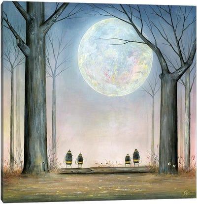 Hunter's Moon Canvas Art Print