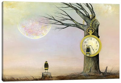 If We Could Stop Time Canvas Art Print