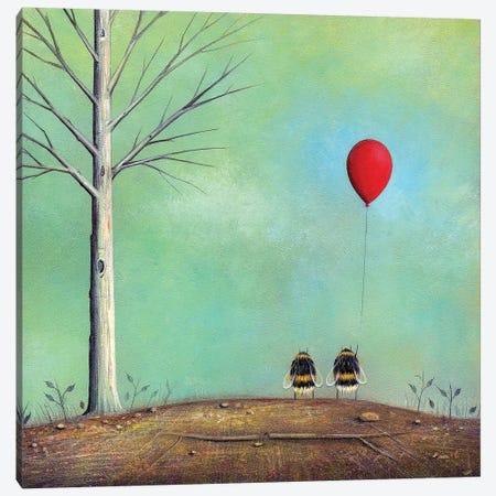 Letting Go Canvas Print #NTP23} by Neil Thompson Canvas Artwork