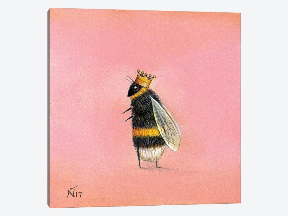Queen Bee by Neil Thompson 1-piece Canvas Art
