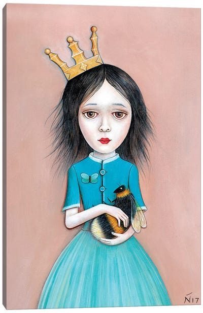Queenie Canvas Art Print