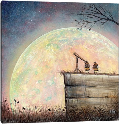 Searching For A New Star Canvas Art Print