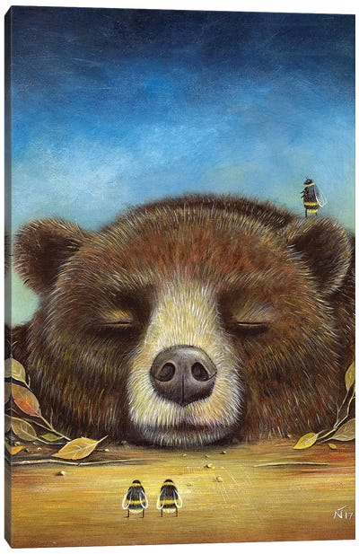 Sleeping Giant Canvas Art Print