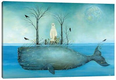 The Island Canvas Art Print