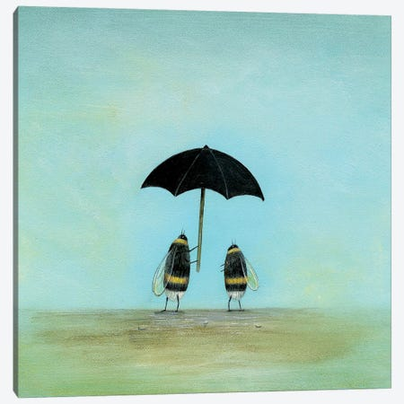 When The Rain Comes Canvas Print #NTP52} by Neil Thompson Art Print
