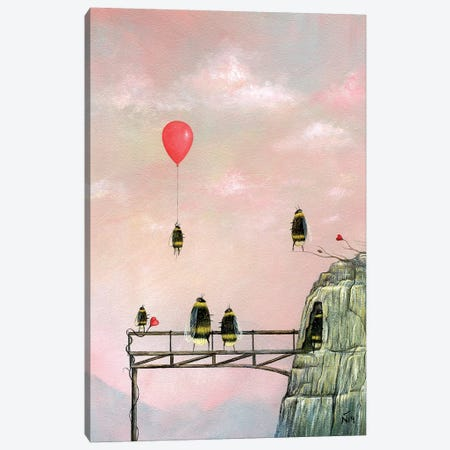 The Bridge Canvas Print #NTP55} by Neil Thompson Canvas Wall Art