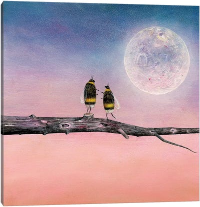 Another World With You Canvas Art Print