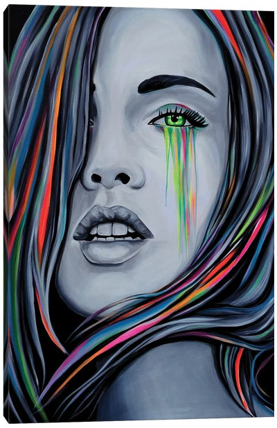 Tainted Love Canvas Art Print