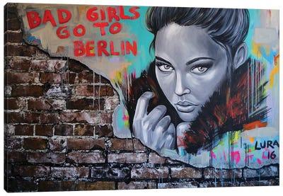 Bad Girls Go To Berlin Canvas Art Print