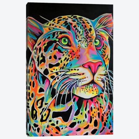 Leopard Canvas Print #NTR17} by Natmir Lura Canvas Artwork