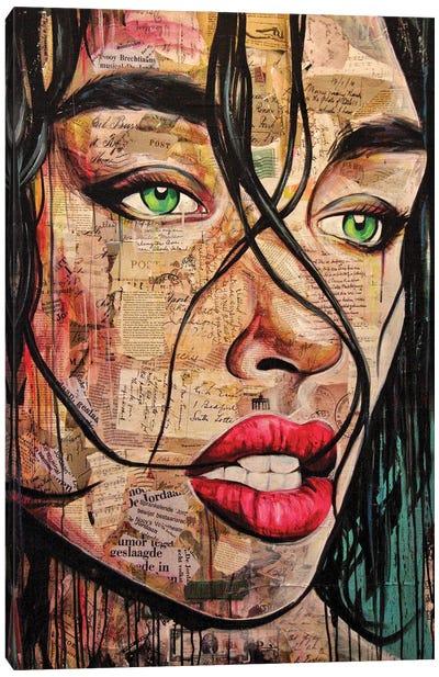 Verbal Emotions Canvas Art Print