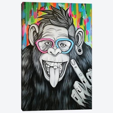 YOLO Canvas Print #NTR29} by Natmir Lura Canvas Wall Art