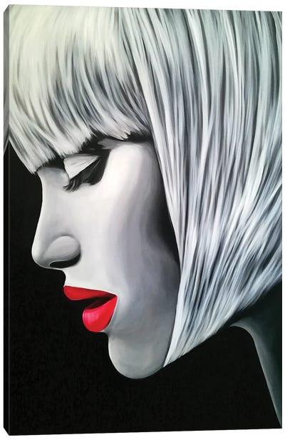 Bangz Canvas Art Print