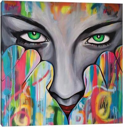 I See You Canvas Art Print