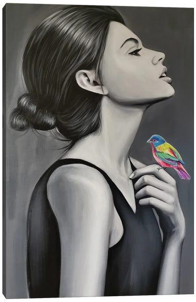 Lady Bird Canvas Art Print