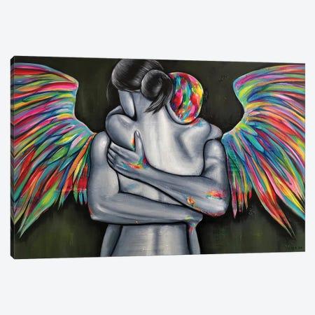 Gardian Angel Canvas Print #NTR4} by Natmir Lura Canvas Artwork
