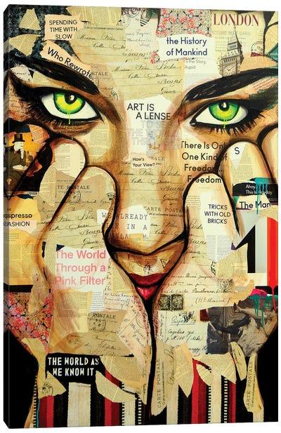 Art Is A Lens Canvas Art Print